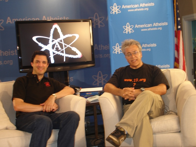 2011-06-24 Edip and David Silverman president of American Atheists 4