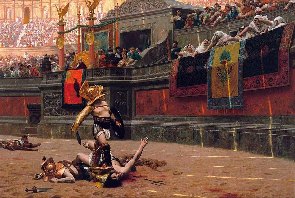 Roman Arena Gladiator