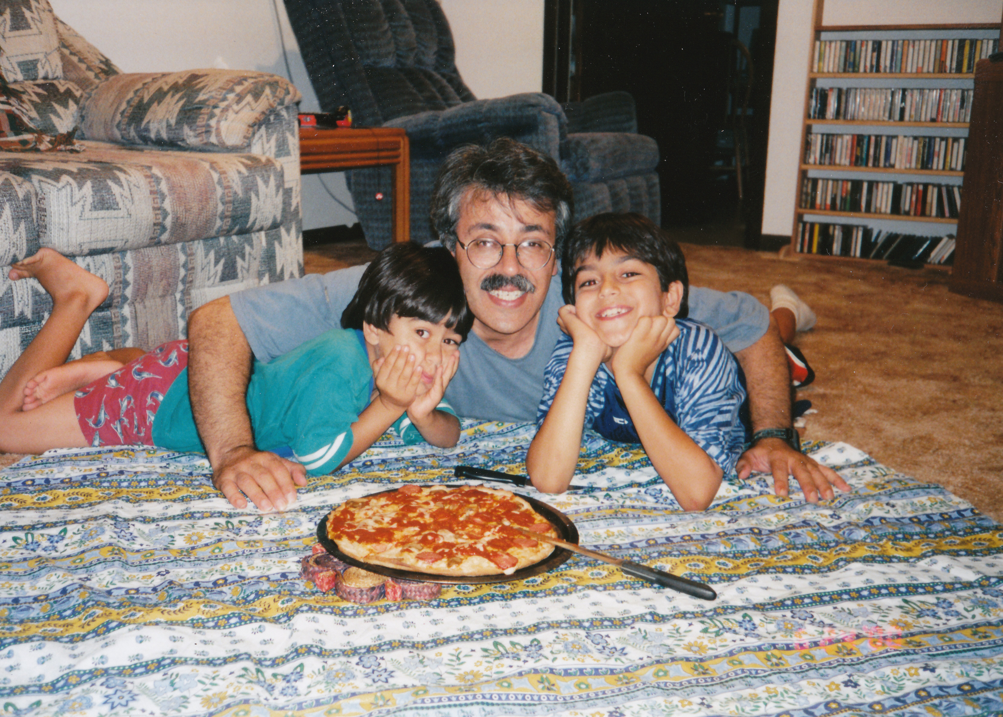 1998 Yahya, Matine, Edip and Pizza