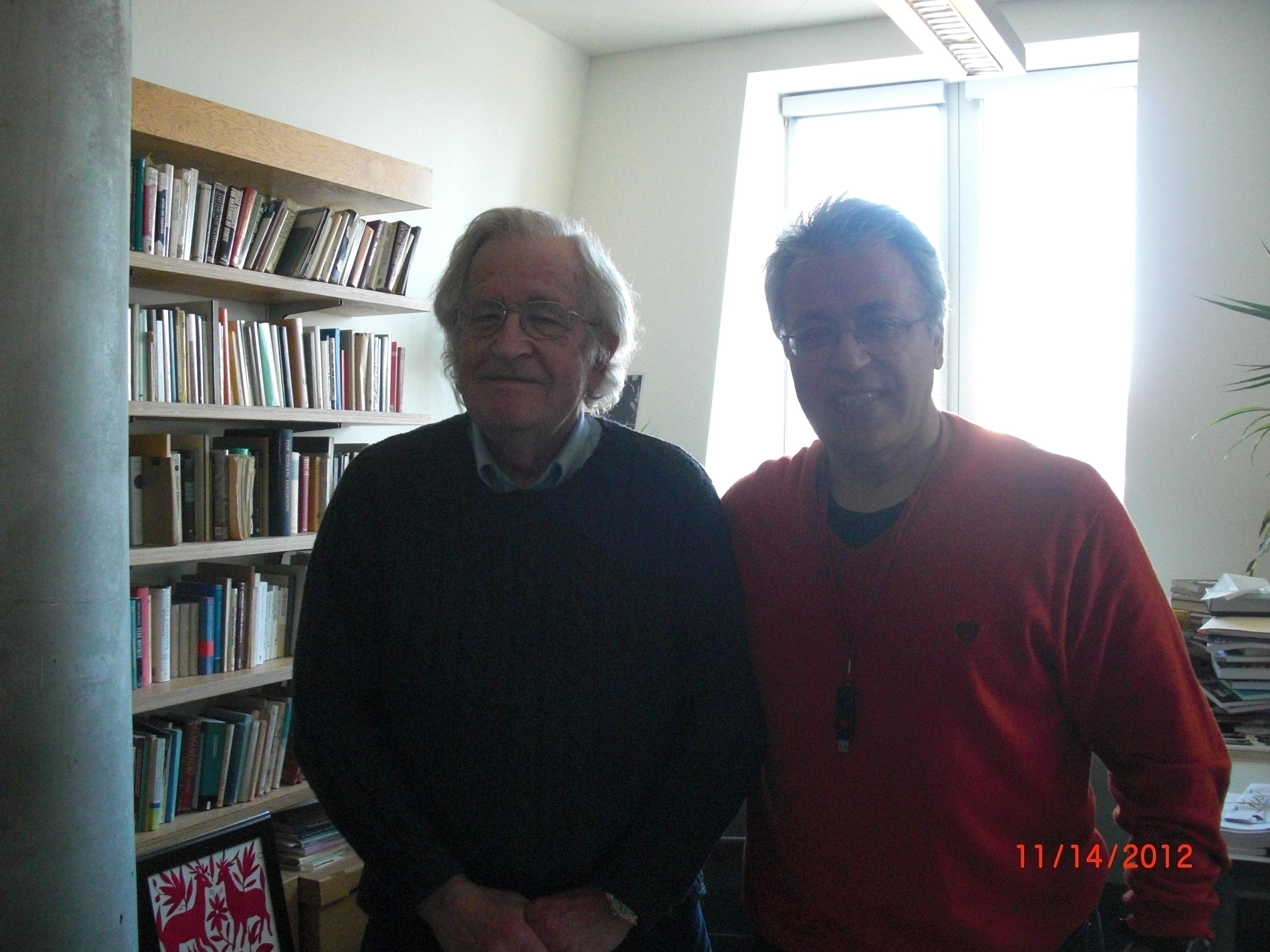 Noam Chomsky and Edip Yüksel, 14 November 2012, M.I.T.