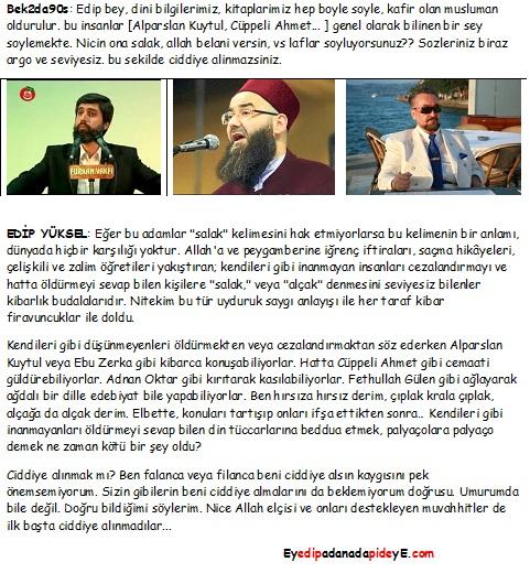 Alparslan Kuytul, Cüppeli Ahmet, Adnan Oktar