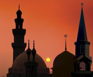 Church-Synagogue-Mosque
