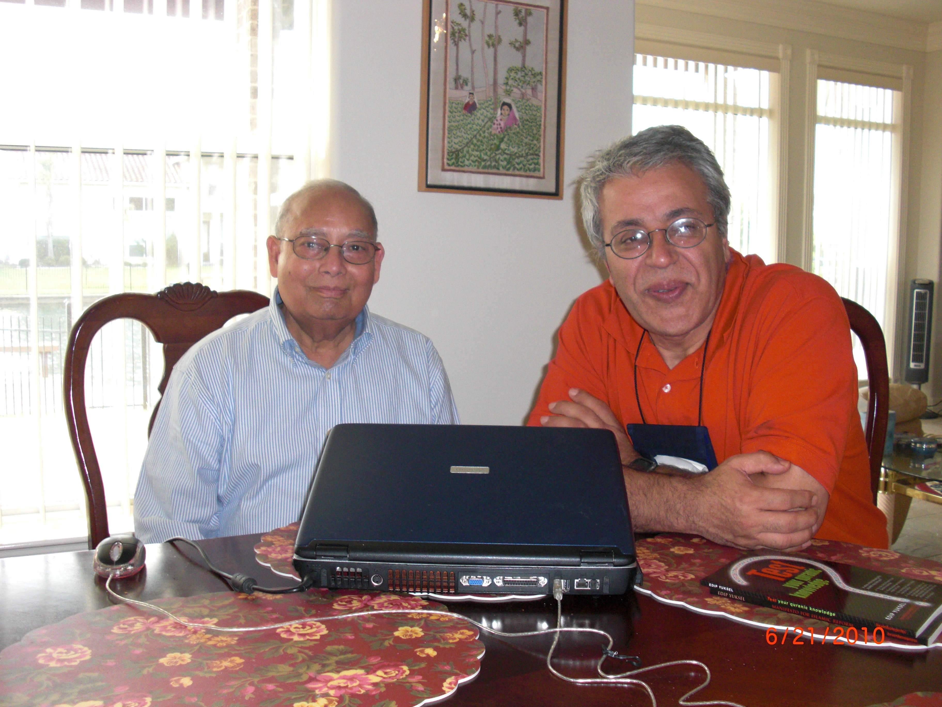 2010 at Abdur Rab's Home in Houston