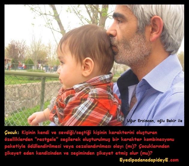 Uğur Erzincan ve oğlu Bekir