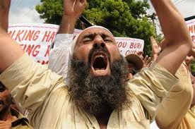 Angry Sunni Protest