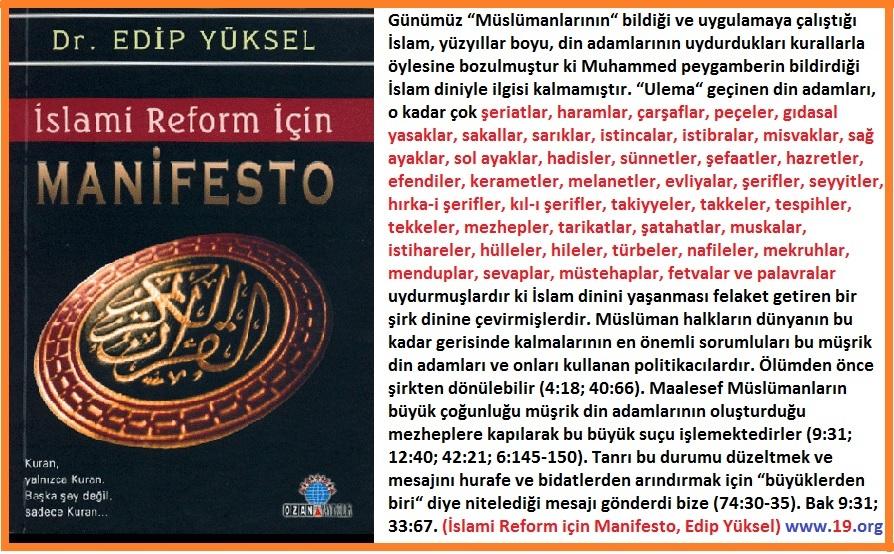 İslami Reorm için Manifesto