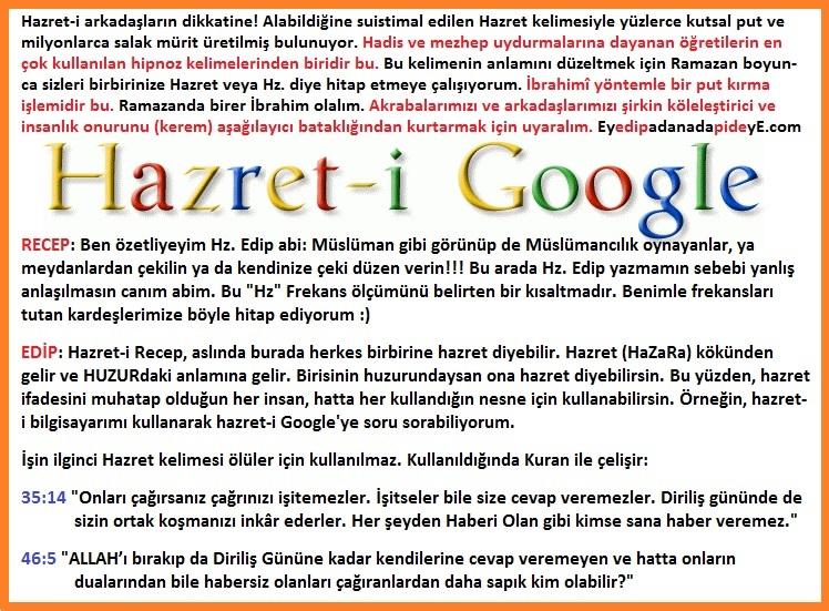 Hazret-i Google 2