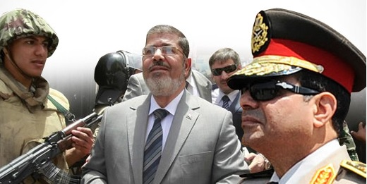 Mısır Mursi Sisi Egypt Darbe