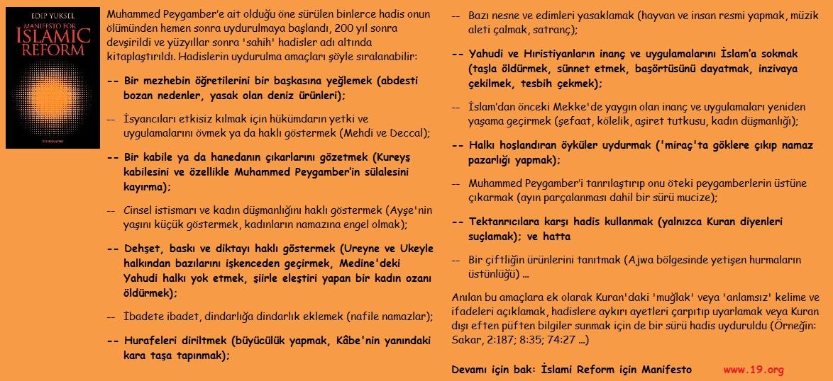 islami reform için manifesto