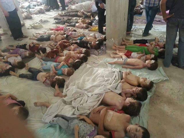 Suriye'deki iç savaşta katledilen çocuklar