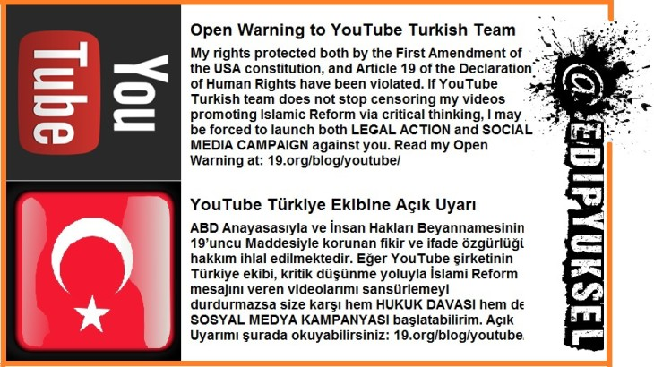2015-02-24 Warning to YouTube Uyarı