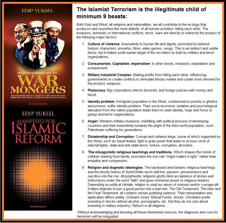 2016-04-05 Terrorism illegitimate child of 9 beasts