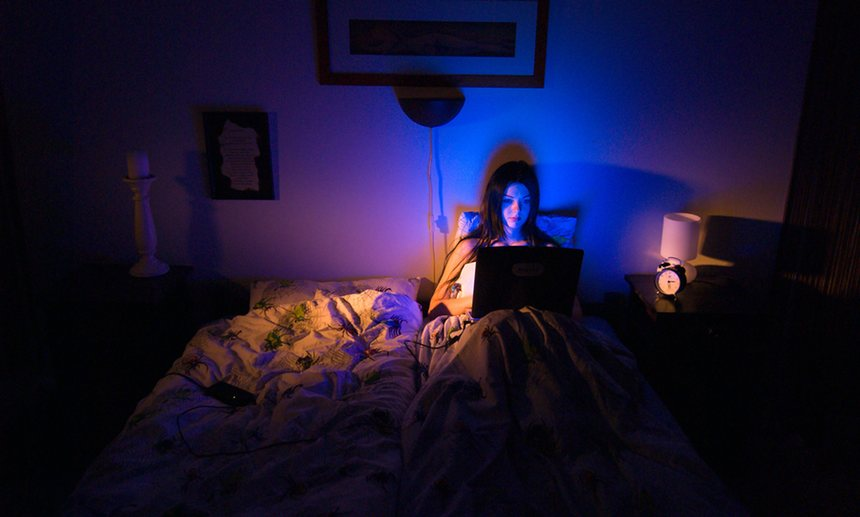 'They were lonely months in which staying home on the internet became the norm.' Photograph: Robert Matton AB/Alamy